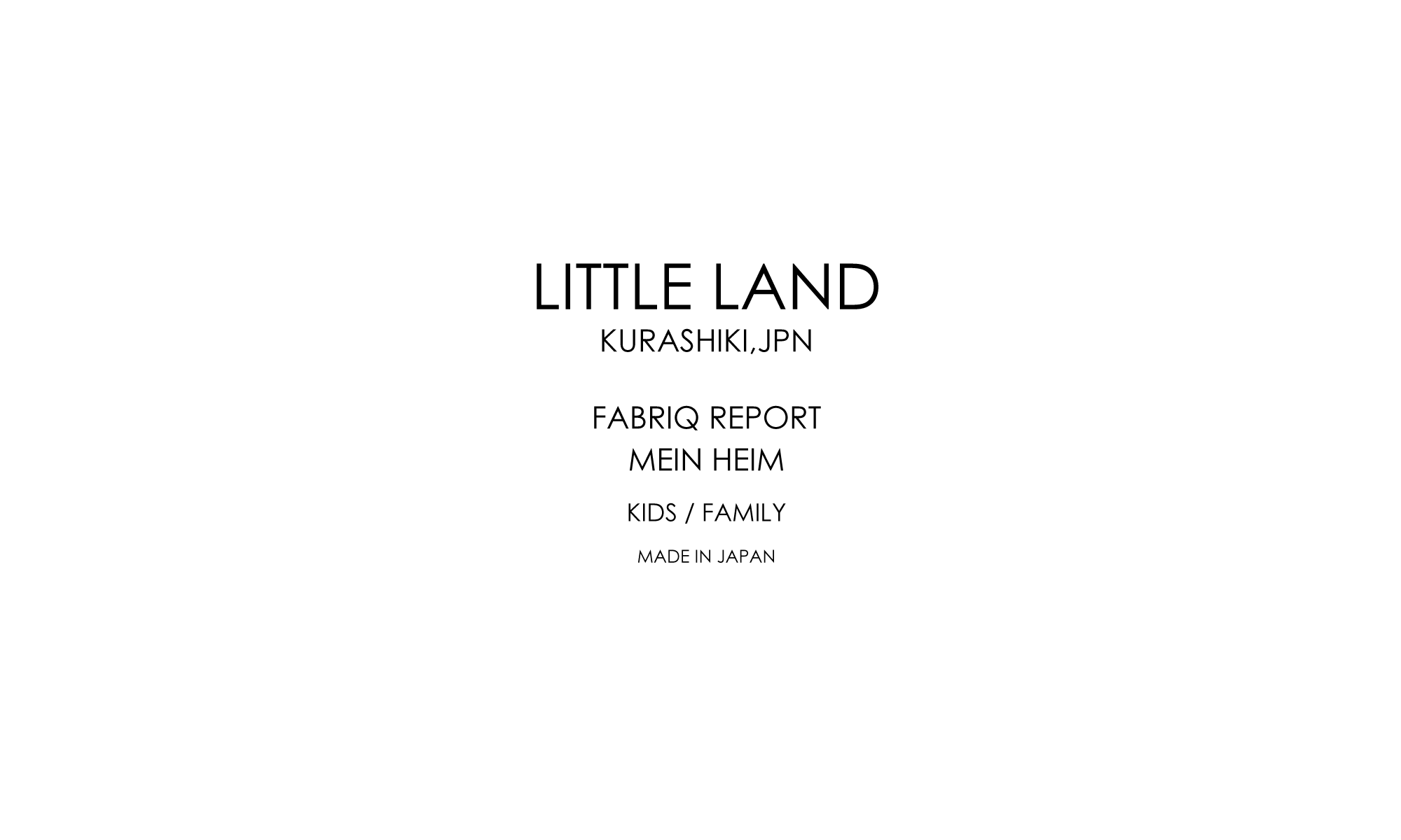 LITTLE LAND OFFICIAL