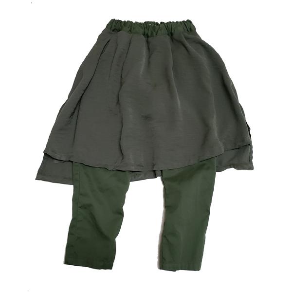 マインハイム オーバースカート10分丈パンツ
